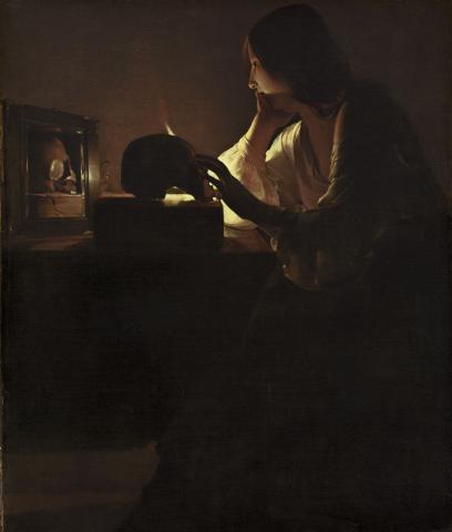 Maddalena penitente, National Gallery, Washington